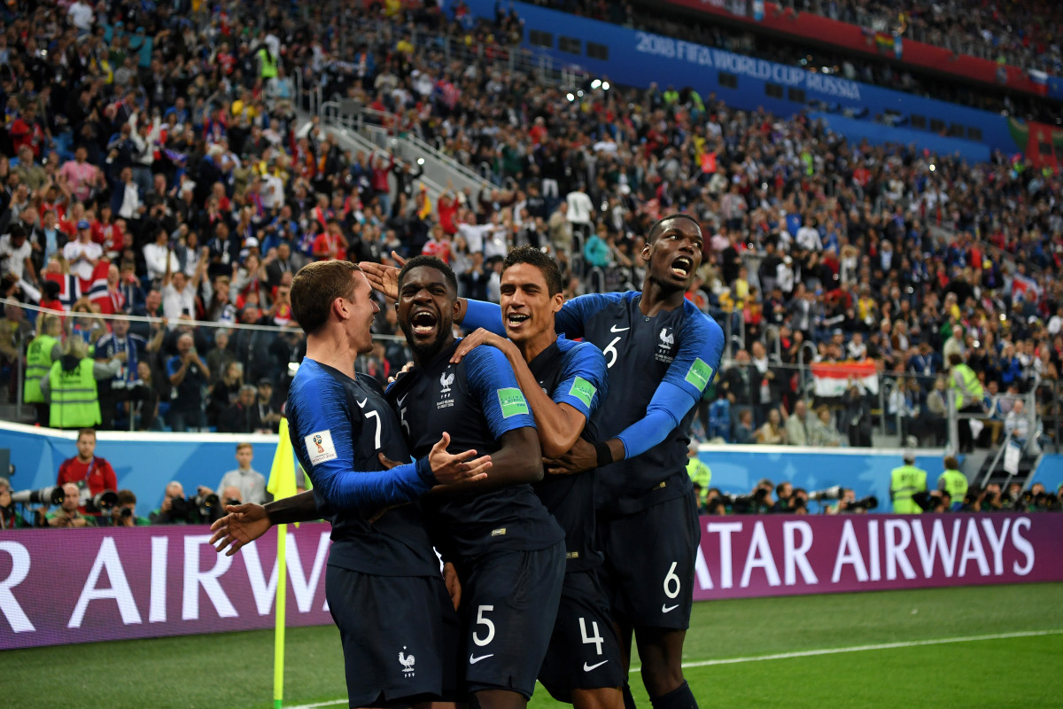 Find the perfect france national soccer team stock photos and editorial news pictures from getty images. France S World Cup Win Highlights The Country S Complicated History With Race And Class Pacific Standard