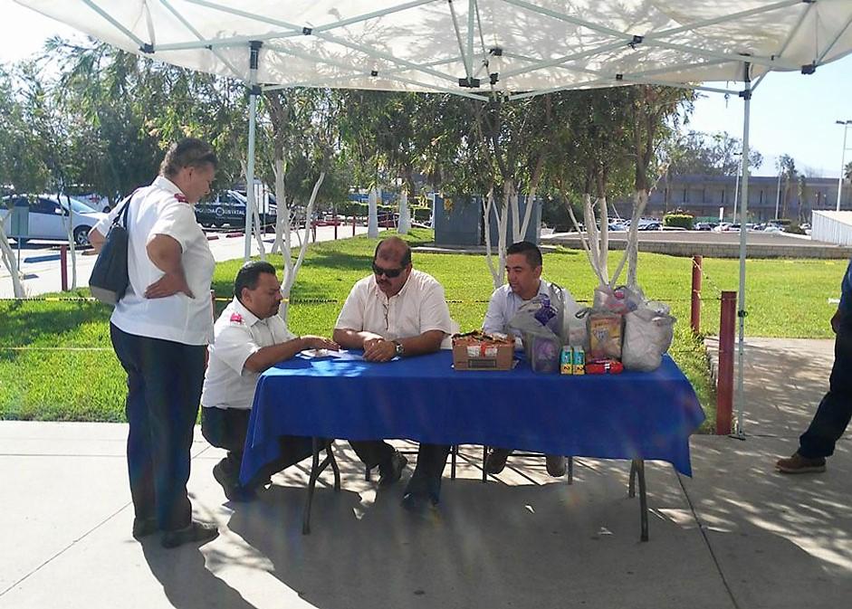 Piden colaborar en Centro de Acopio para migrantes