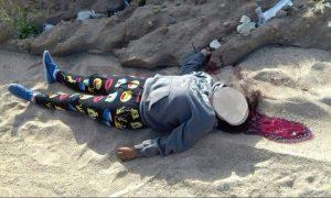 Mujer decapitada