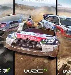 WRC 5 WRC 6 WRC 7 PS4