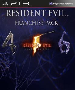 Resident Evil Combo 4 5 6 Franchise PS3