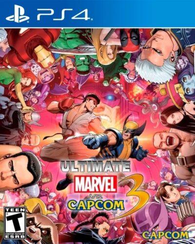Ultimate Marvel vs Capcom 3 PS4