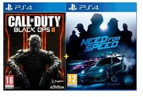 Call of duty Black ops 3 Gold + Need for Speed PS4