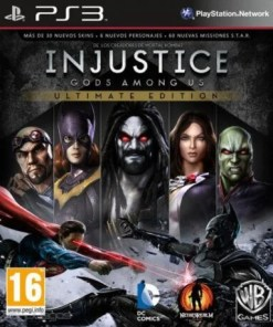 Injustice Gods Among Us Ultimate PS3
