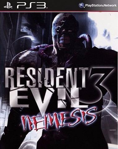 Resident Evil 3 Nemesis PS3