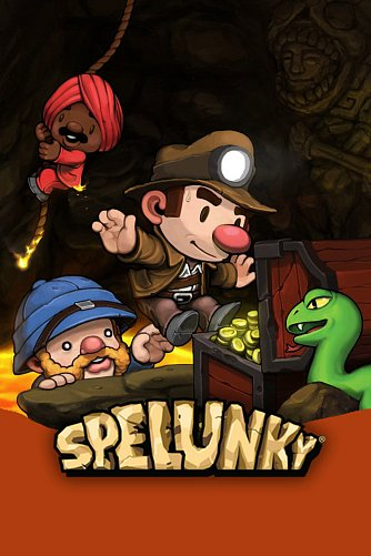Spelunky game cover art