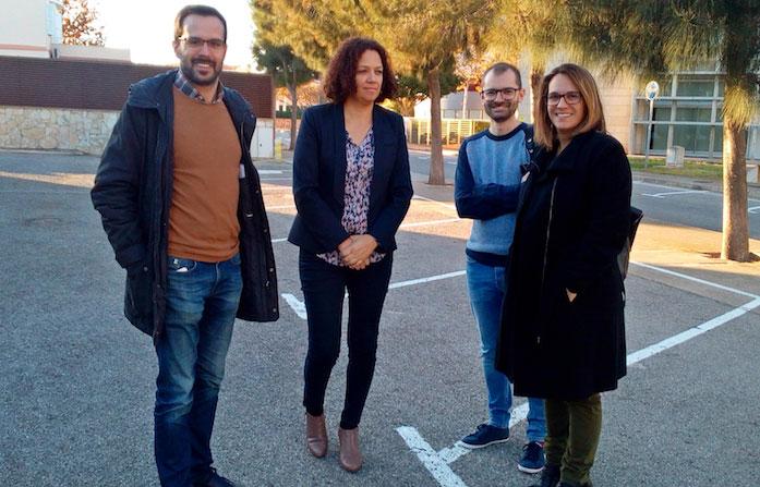 Presentació desnitrificadora PSOE Maó Catalina Cladera Hector Pons Susana Mora