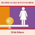 22 de febrer dia internacional per a la igualitat salarial PSOE Maó