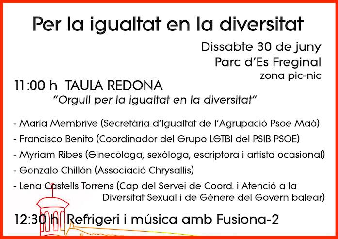 Cartell-PSOE-Maó-Dia-Internacional-de-l'Orgull-LGTBI
