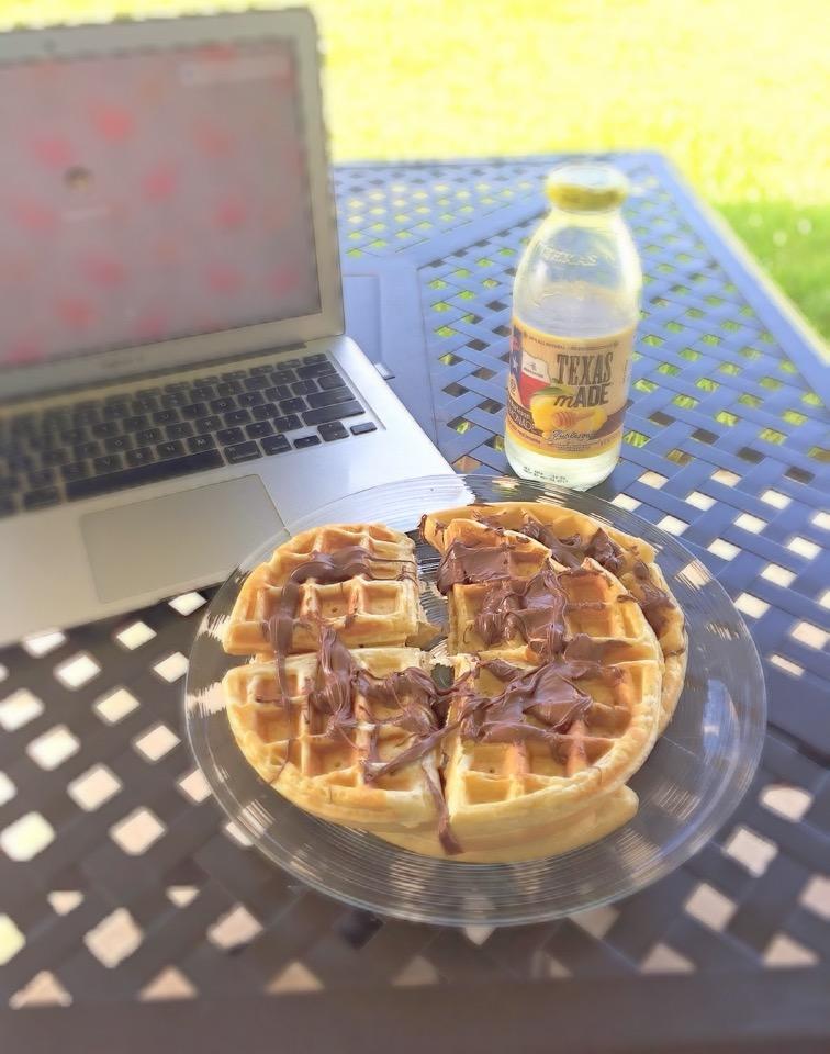 waffle nutella processo integrazione parole sparse