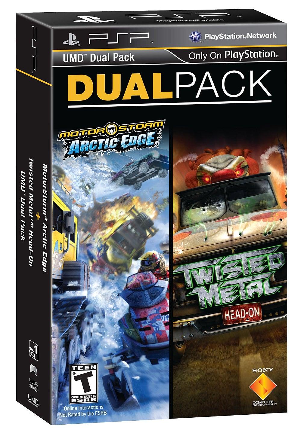 Dual Pack Motorstorm Arctic Edge Amp Twisted Metal Head On PlayStation Portable IGN