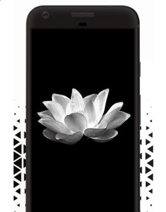 fondos amoles negro para Galaxy S8