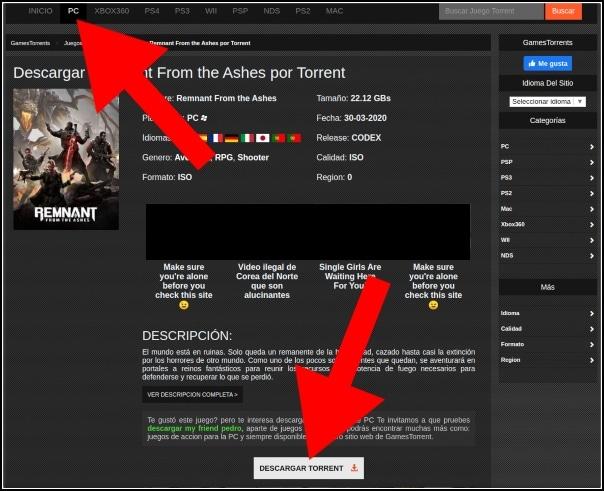 descargar juegos de GamesTorrents