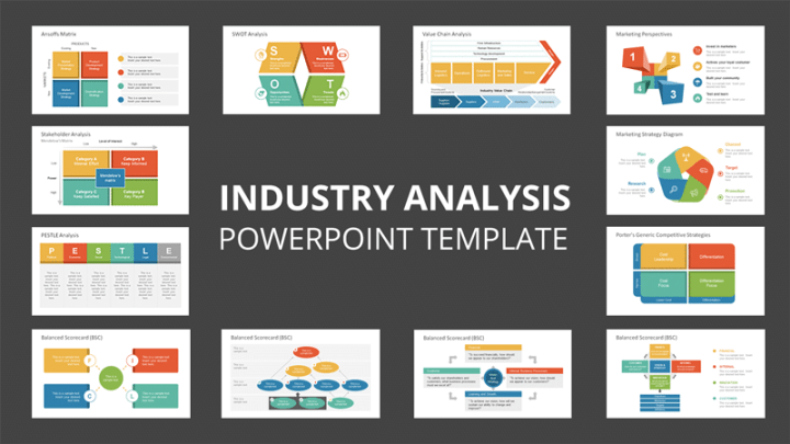 industry analysis powerpoint template