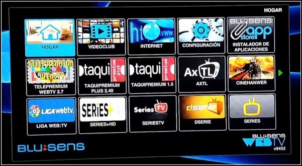 Blusens WebTV