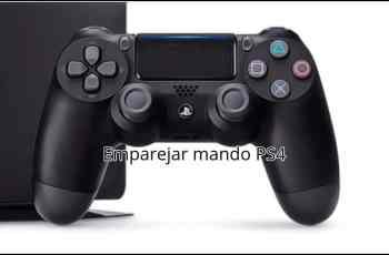 Emparejar mando PS4