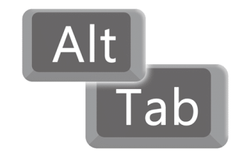 alt + tab