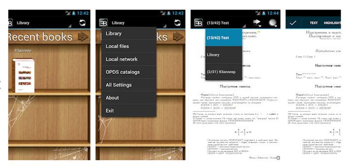 ebookdroid apk lector de ebooks