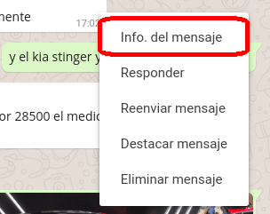 info whatsapp web
