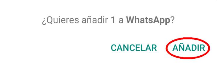 añadir pack de stickers a WhatsApp