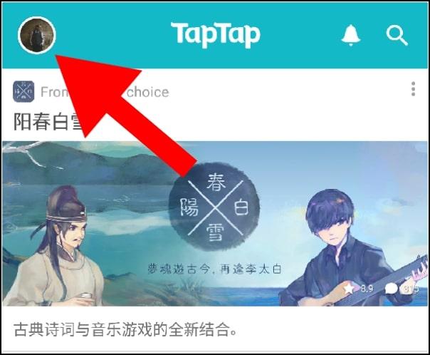 nuevo usuario TapTap