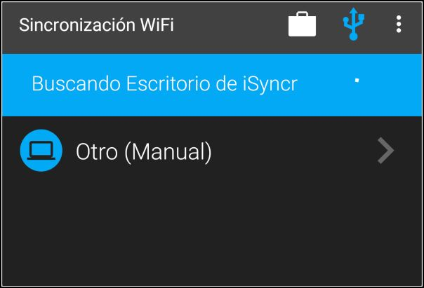 Buscando escritorio iSyncr