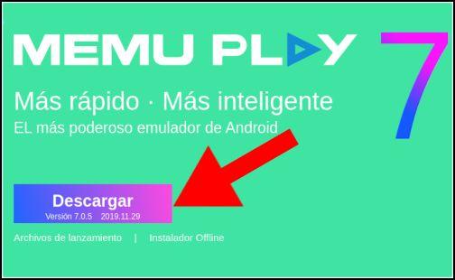 descargar Memu Play