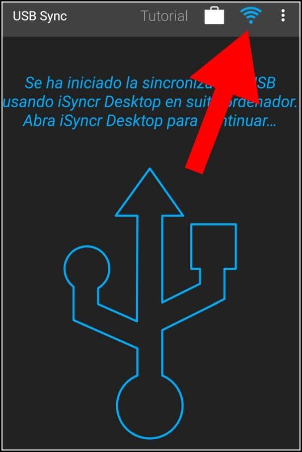 iSync: conexión USB y WiFi