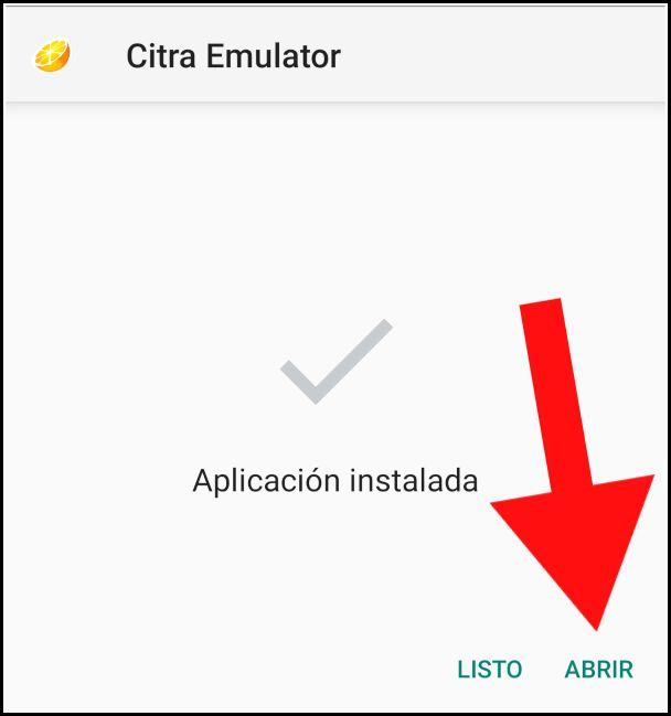 Abrir Citra Emulator