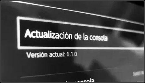 Actualización Switch