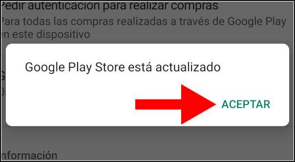 Google Play Store actualizado