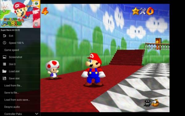 Mupen64Plus FZ, emulador de Nintendo 64