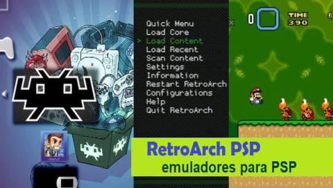 RetroArch PSP