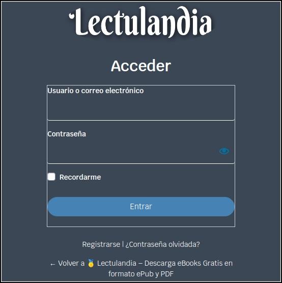registro Lectulandia