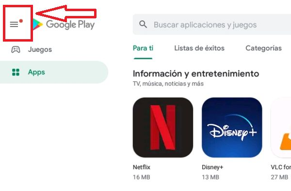 Play Store desactivar actualizaciones automáticas 1