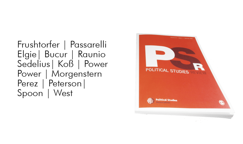 Political Studies Review issue 1/2020