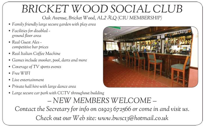 Bricket Wood Social Club