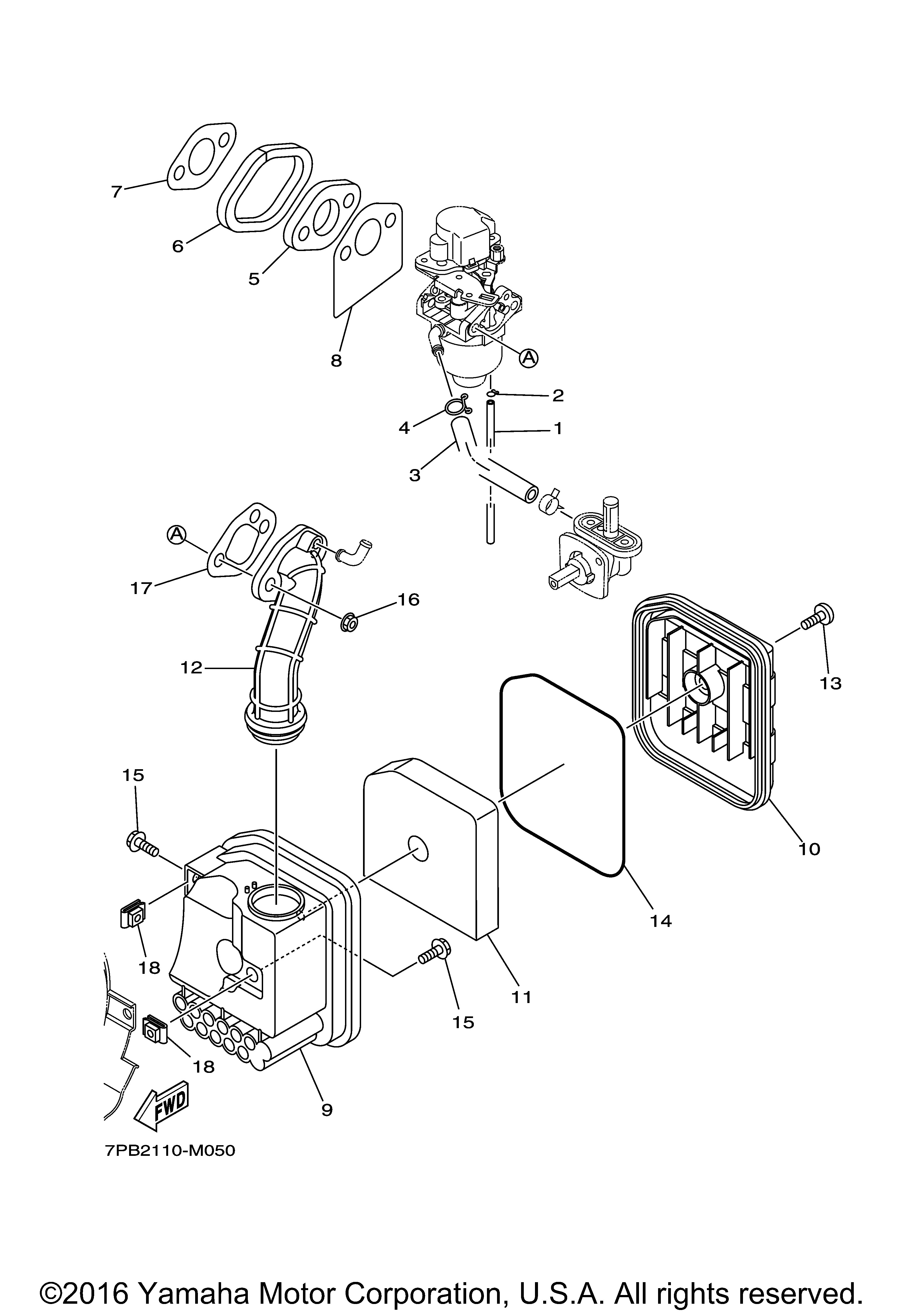 Yamaha Diagram Parts Ef2000is