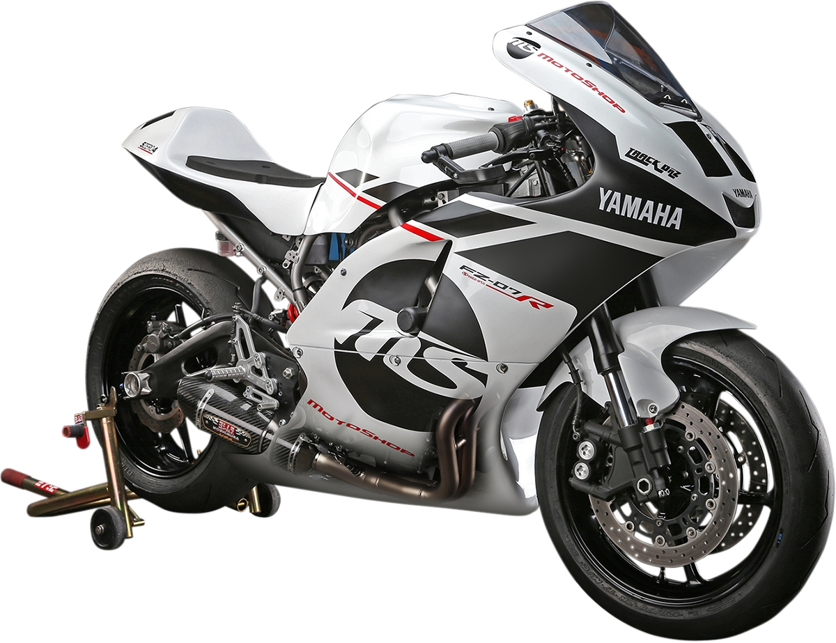 details about yoshimura r 77 rs exhaust system ss cf cf wf yamaha fz 07 mt 07 15 18