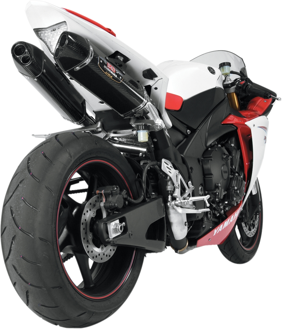 details about yamaha yzf r1 09 14 yoshimura trc d stainless slip on exhaust carbon mufflers