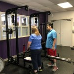 ACC Exercise Science students facilitating clients to reach their fitness goals