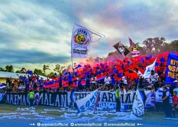 Arema Indonesia Menangi Derby Malang Raya