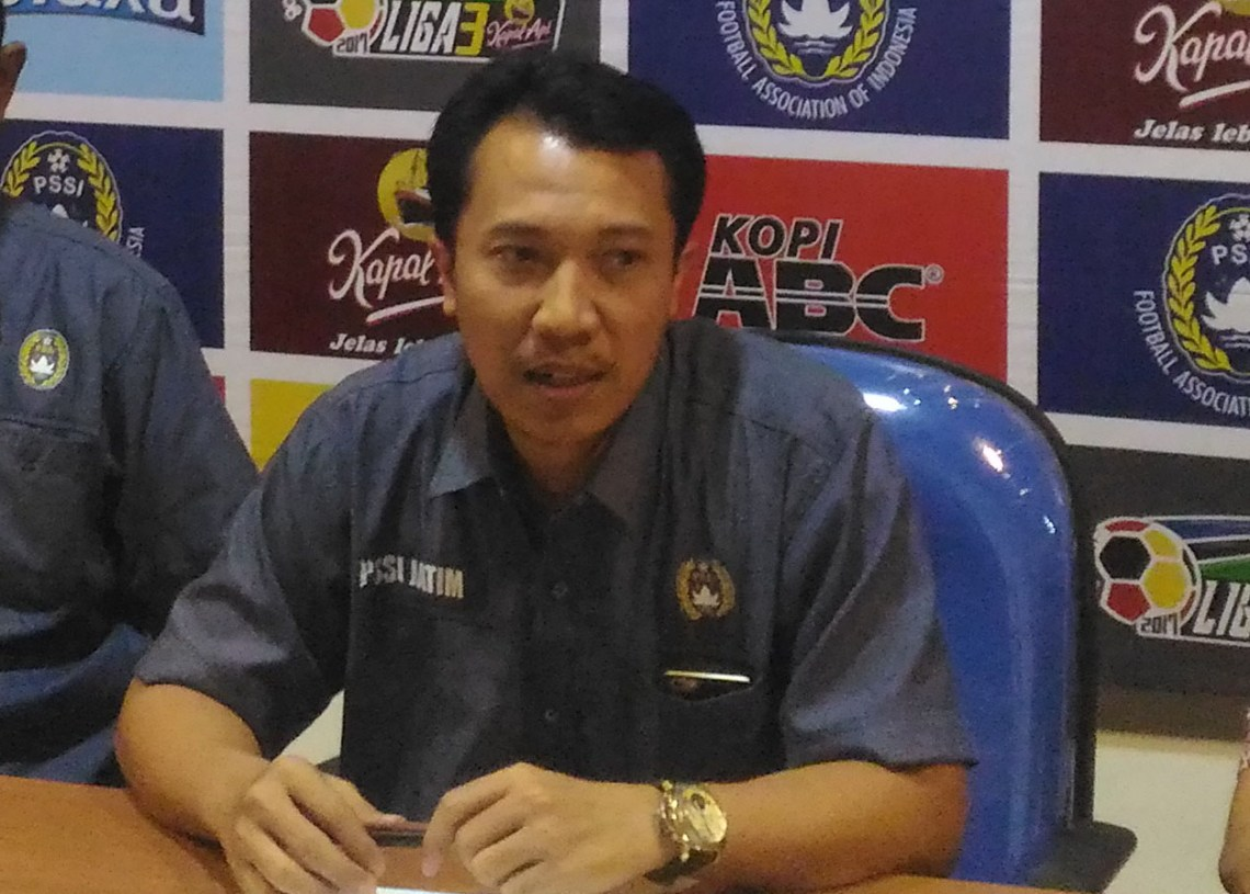 Sekretaris Asprov PSSI Jatim Amir Burhanuddin