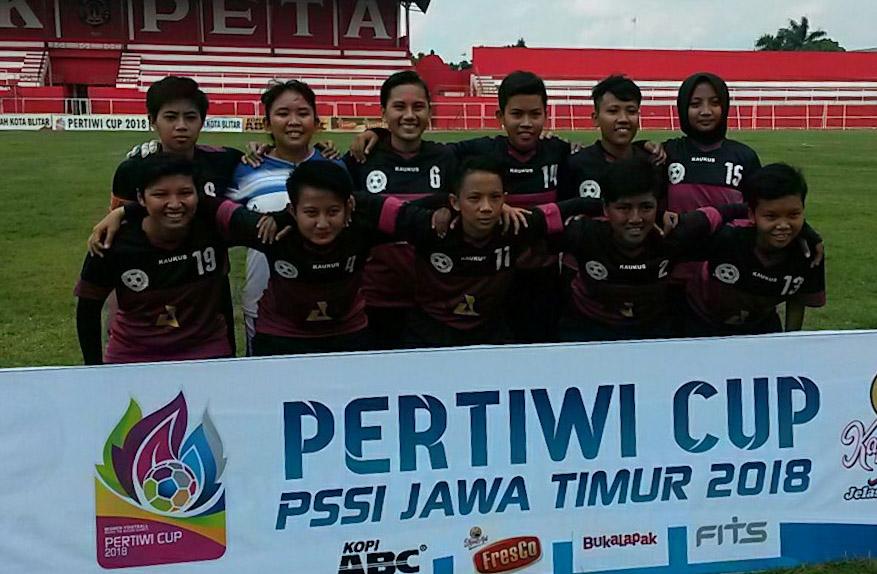 Tim Putri Chandra Kirana Kediri. FOTO: ISTIMEWA