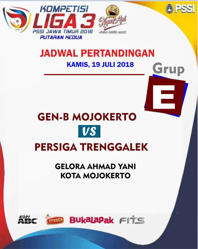Jadwal liga 3 jatim 19 juli 2018 grup E
