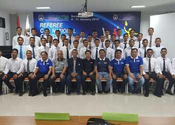 PSSI Jatim Gembleng 38 Wasit di Kursus Referee C-1 Nasional