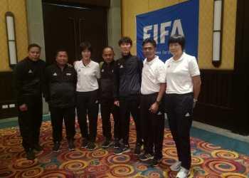 Dua Referee Assesor asal Jatim Terpilih Ikuti Kursus Instruktur Wasit FIFA di Korsel