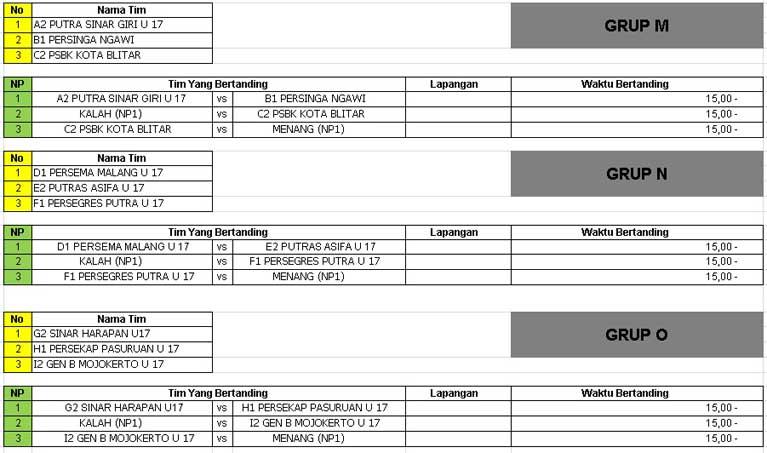 Piala Soeratin U17 - 2019