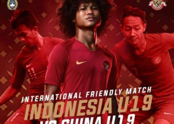 Tiket Ujicoba Timnas Indonesia U-19 vs Timnas China U-19 Dijual Via Online