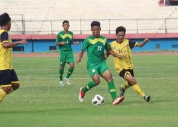 Tim PON Jatim Uji Arema FC